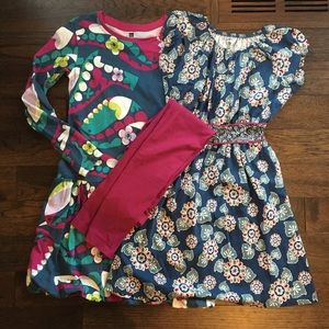 Girls Tea Collection Dresses and Legging